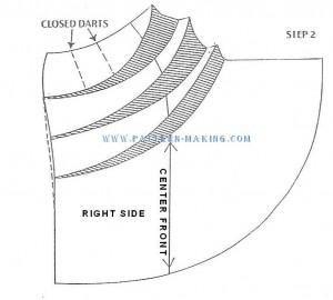 Проект саронг юбки sascade-2