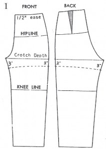 draft shorts pattern-1