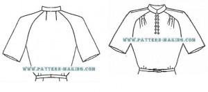 raglan sleeve draft-4